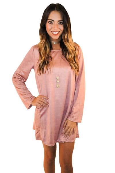 Mythical Nights Dress In Blush