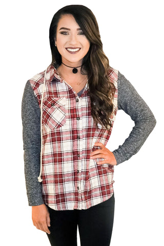 Going Campside Plaid In Red