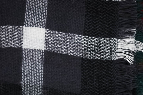 Train Station Anticipation Infinity Scarf In Black