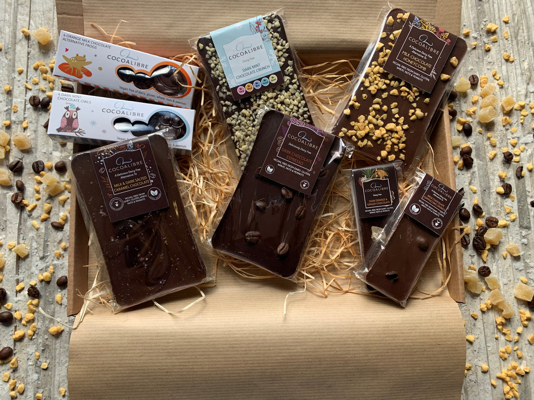 Mini Chocolate Gift Box | 260g Dairy Free Vegan Cocoa Libre