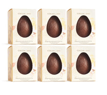 Load image into Gallery viewer, Orange Chocolate Easter Egg | 110g Dairy Free Vegan