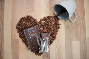 Espresso Dark Chocolate Coffee Slab | 100g Dairy Free Vegan