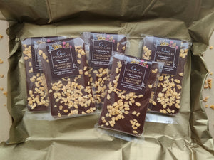 Honeycomb Rice Milk Chocolate Slab | 100g Dairy Free Vegan