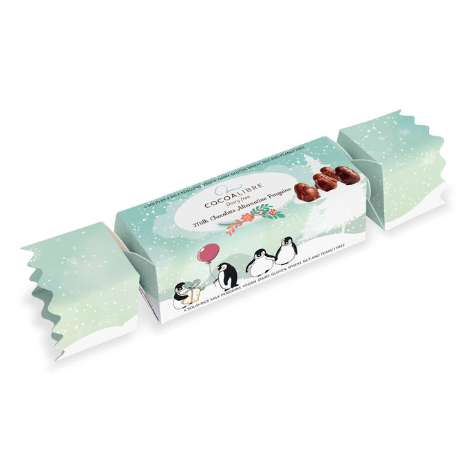 Rice Milk Penguin Cracker, 4 Penguins | 50g Dairy Free Vegan