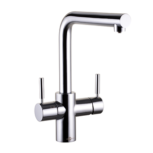 3N1 Chrome Steaming Hot Water Tap, Tank & Filter