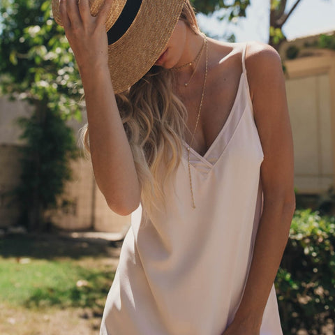 Gentle Fawn // Astel Rose Dress