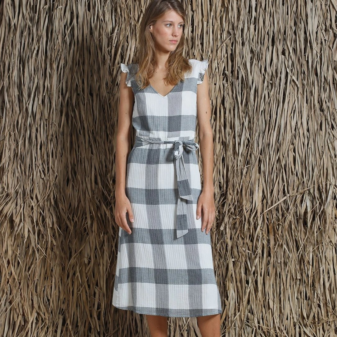 Indi & Cold // Plaid Dress