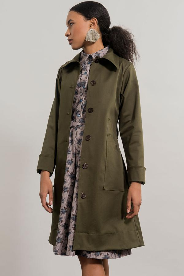 Jennifer Glasgow // Oya Trenchcoat