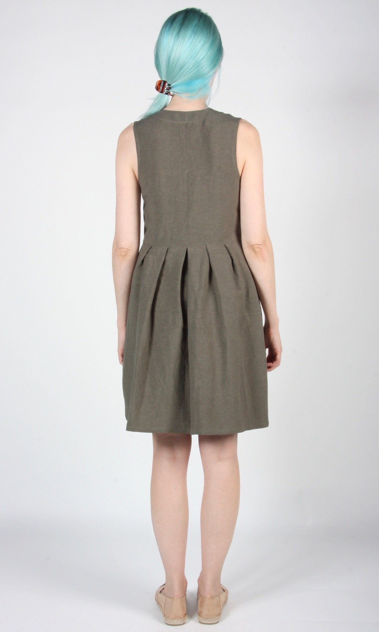 Birds of North America // Pingouin Olive Dress