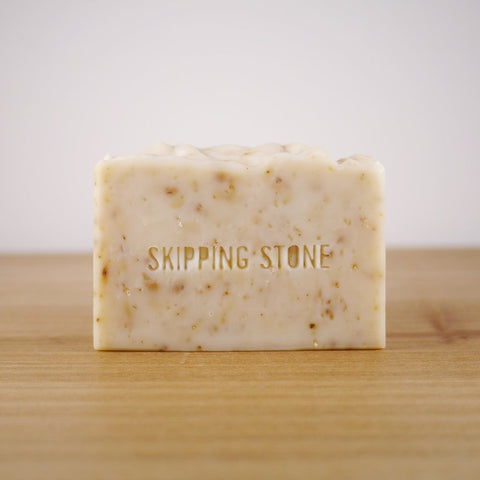 Skipping Stone // PURE: Oatmeal + Honey Handmade Soap