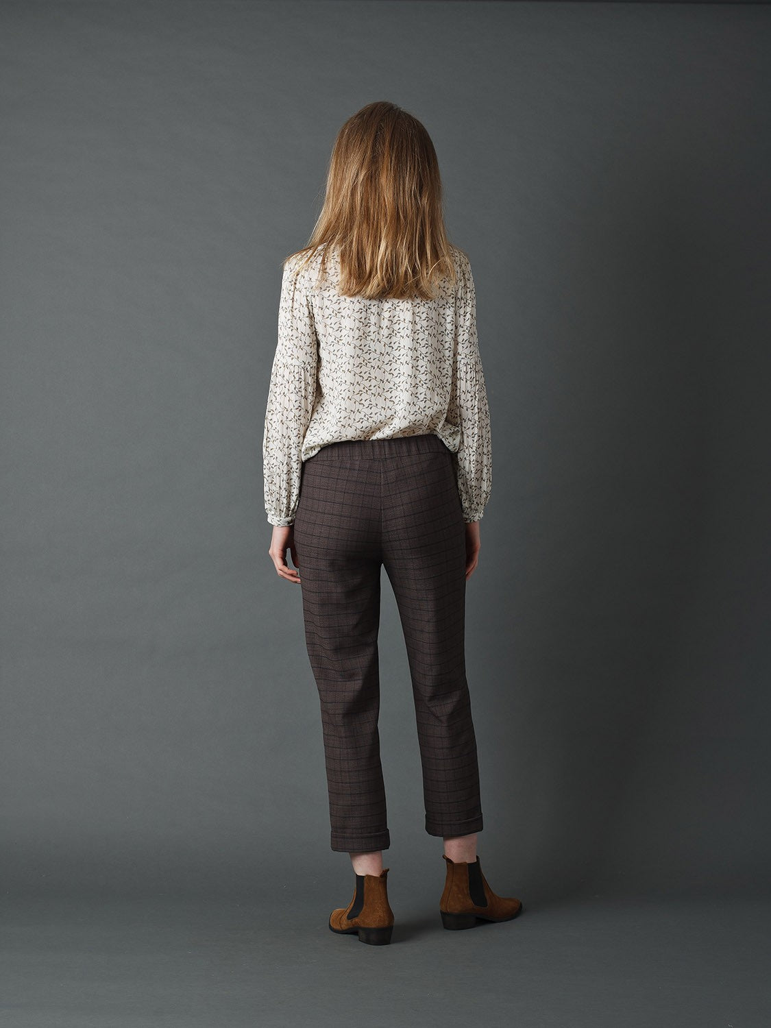 Indi & Cold // Jack Plaid Trousers