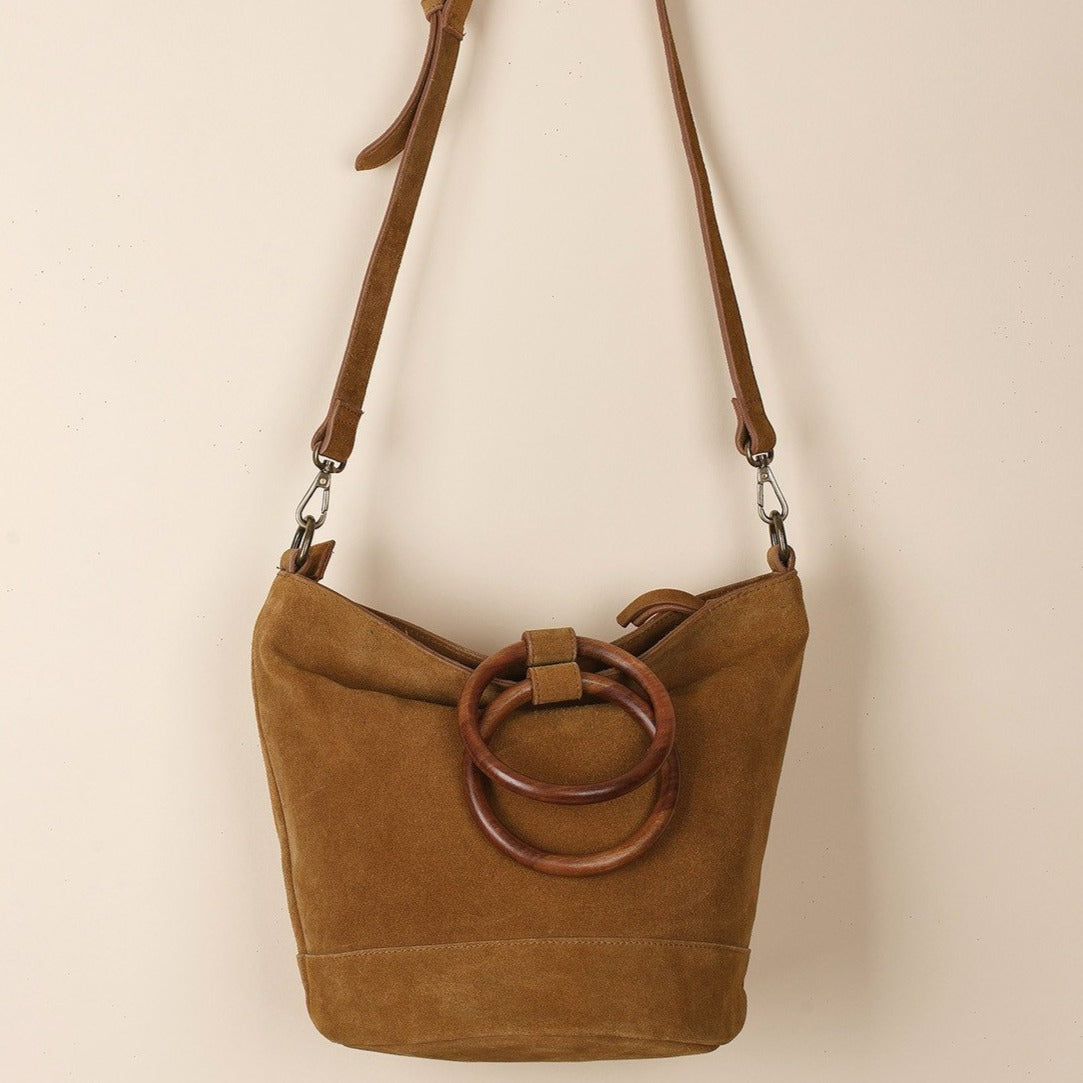 Indi & Cold // Leather Bag Tobacco