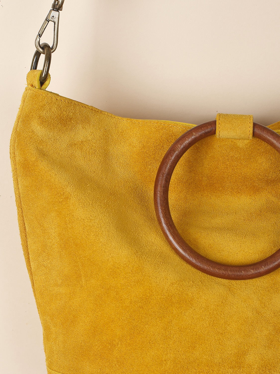 Indi & Cold // Leather Bag Gold