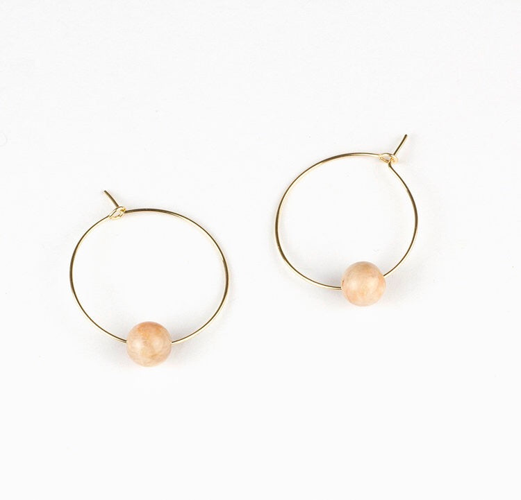 Not Magic // Orbit Hoops Sunstone