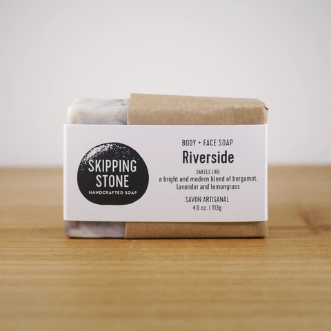 Skipping Stone // Sandy Beach Handmade Soap