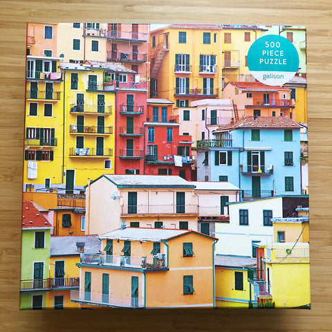 Galison Ciao From Cinque Terre // 500 Piece Puzzle