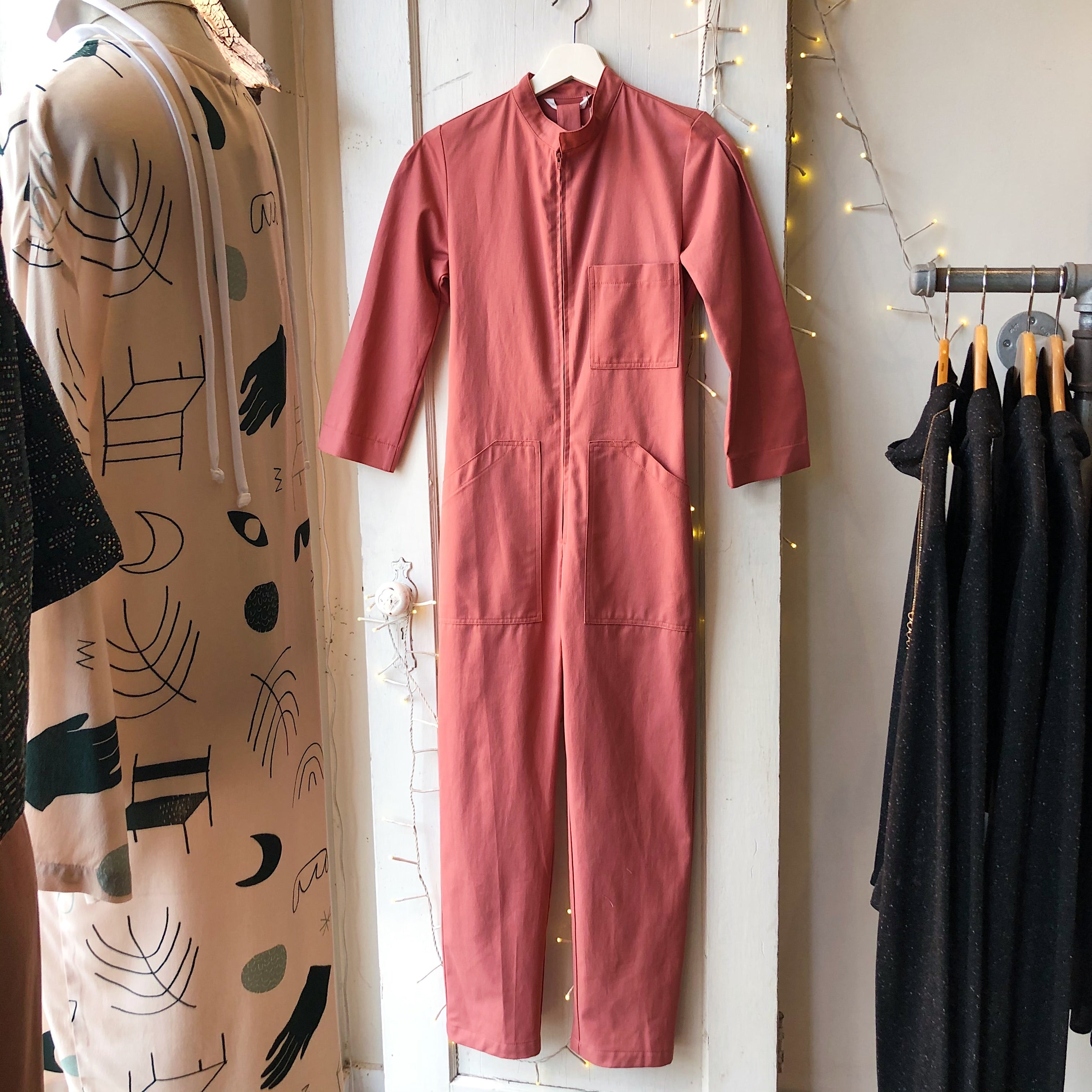 Dagg & Stacey // Finch Boilersuit Clay