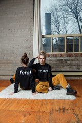 Sara Duke // Reversible Sweatshirt