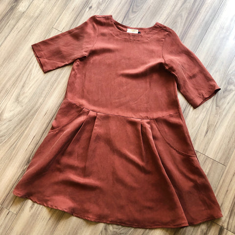 Pillar by Allison Wonderland // Sabrina Dress Rust