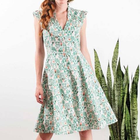 Annie 50 // Charleston Chew Dress