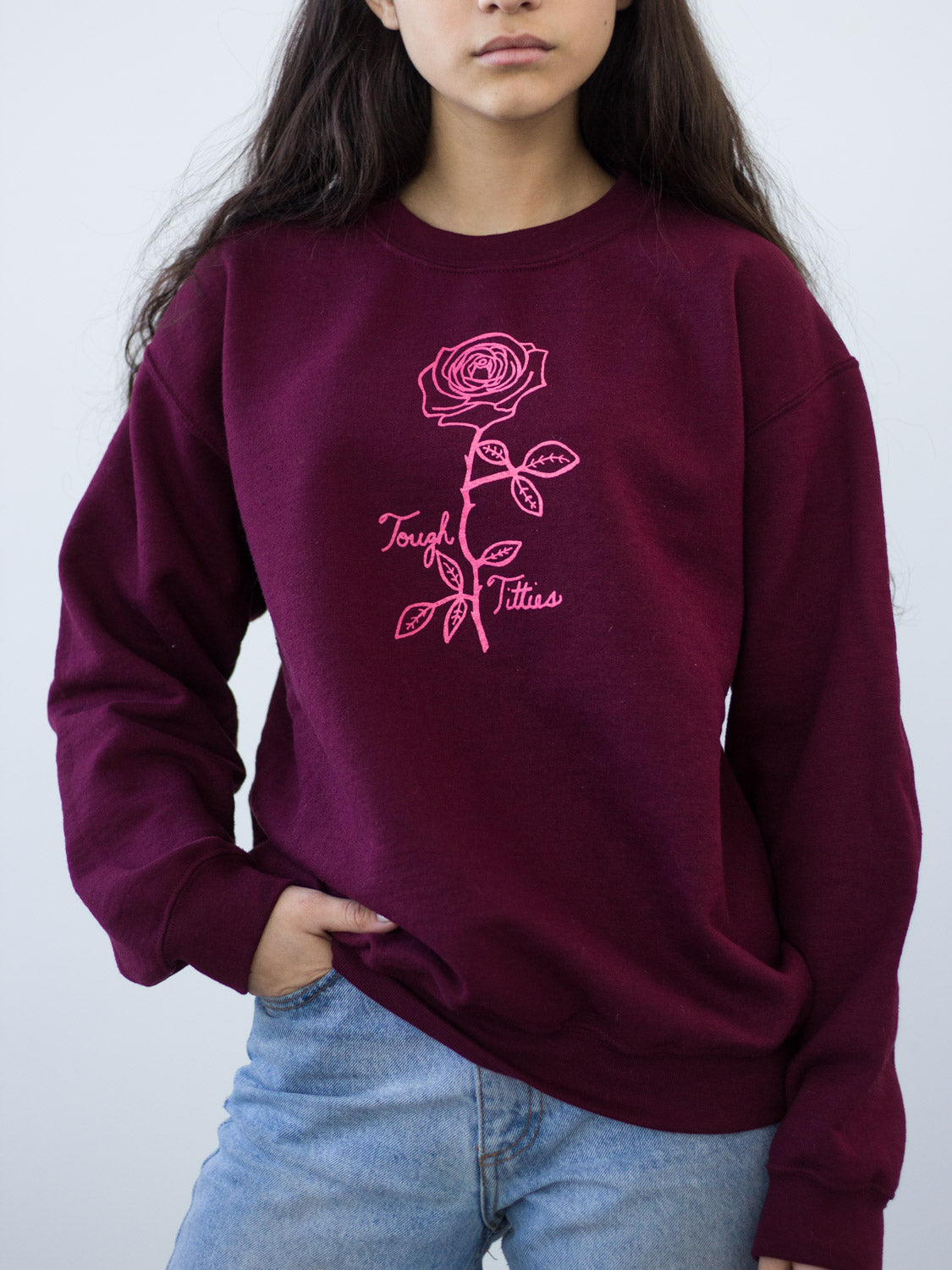 Slow Dog Designs // Tough Titties Sweatshirt