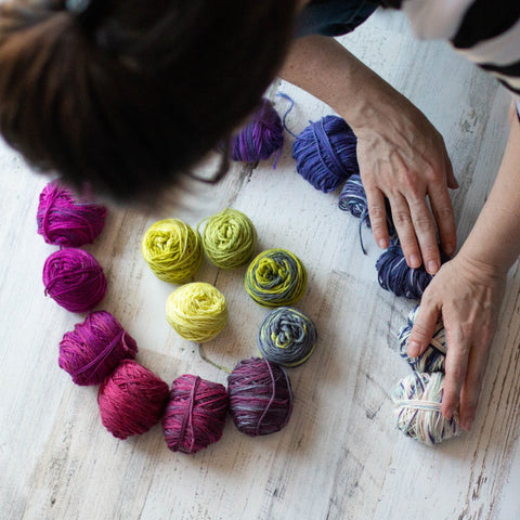 Four Month Gift Subscription to the SpaceCadet's Mini-Skein Club