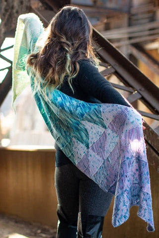 Striae Wrap Pattern by Stephanie Alford