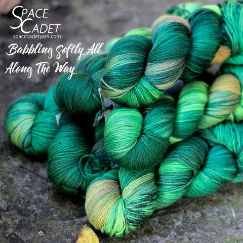 Babbling Softly All Along The Way (Yarn Alliance Exclusive Colourway, Sept 2018)