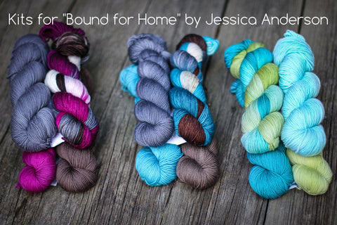 Bound for Home Shawl Kits