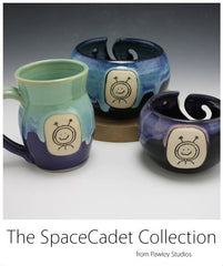 SpaceCadet Yarn Bowls & Mugs by Pawley Studios
