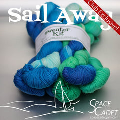 Sail Away -- Mini-Skein Gradient Mix Sweater Kits