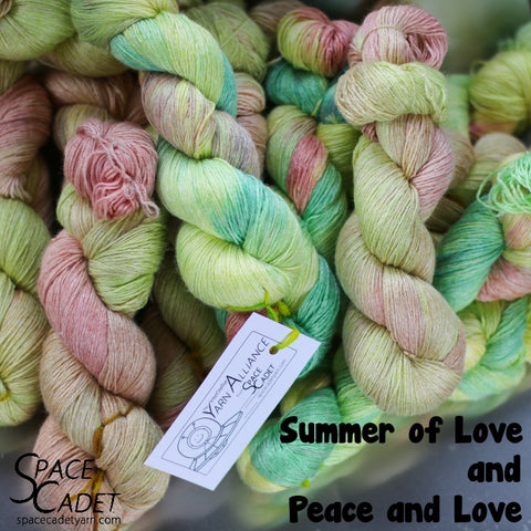 Summer of Love (Yarn Alliance Colourway July 2018)