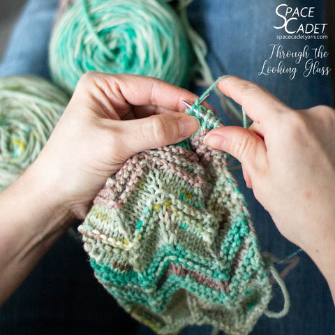 "SpaceMonsters Feb2019 Yarn, ""Through the Looking Glass"""