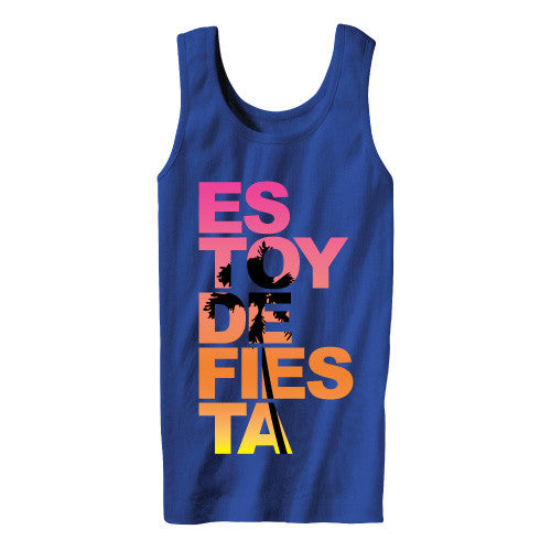 ES TOY DE FIESTA TANK TOP