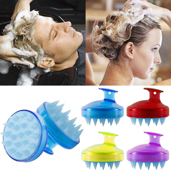 Multi-function Spa Massage Head Scalp Massage Washing Brush