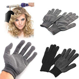 Protective Heat Resistant Finger Glove For Hair Straightener Perm Curling Flat Iron