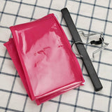 1pc Pink/Black Hair Extensions/Wig Storage Bag with Wig Hanger Dust Proof Protective