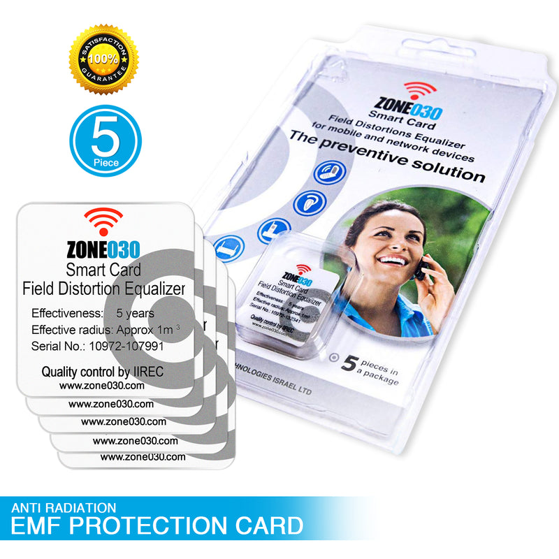 Zone030 Anti-Radiation smartcard