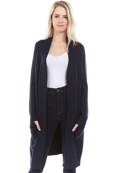 LONG CARDIGAN NAVY