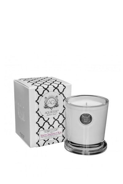 WHITE GRAPEFRUIT ACAI LARGE SOY CANDLE