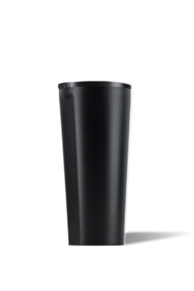 BLACK DIPPED TUMBLER 24 OZ.