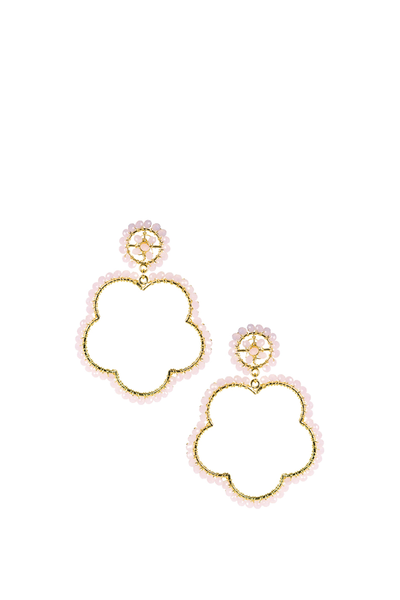 BOBBI EARRINGS COTTON CANDY