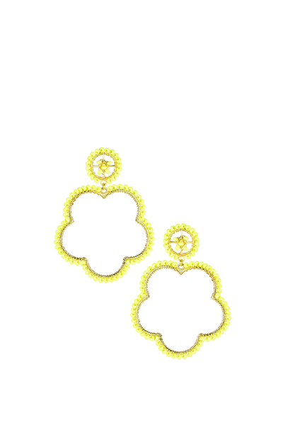 BOBBI EARRINGS TENNIS BALL