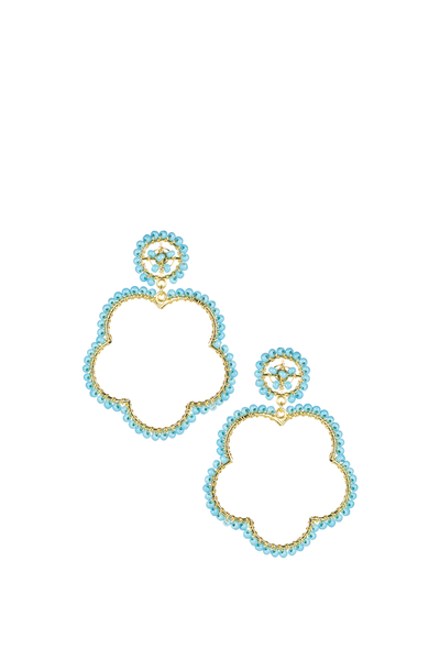 BOBBI EARRINGS TURQUOISE
