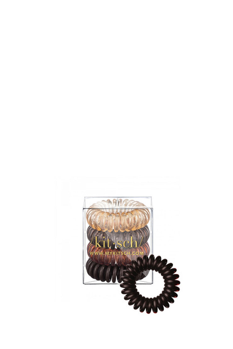 4 PACK HAIR COILS BRUNETTE