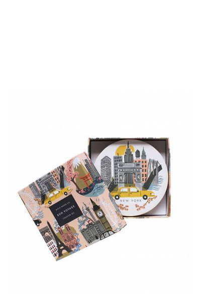 CITIES COASTER SET