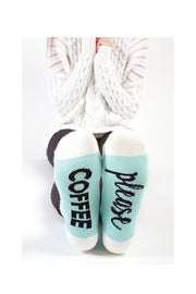 COFFEE PLEASE SOCKS
