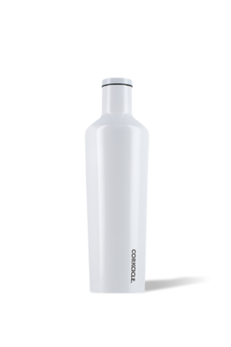 WHITE DIPPED CANTEEN 25 OZ.