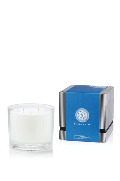GIBSON AND DEHN COASTLINE CANDLE 3 WICK
