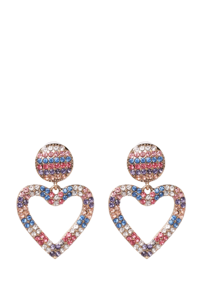 OPEN YOUR HEART DROP EARRINGS